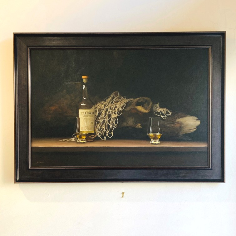 'Whisky and Driftwood' by artist Lee Craigmile