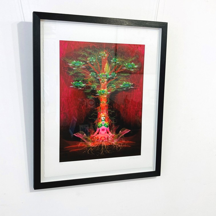 ''THE BODHI TREE' Limited Edition Print' by artist Ashley Cook