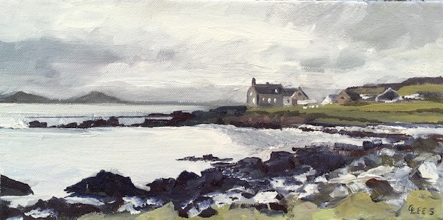 'Iona Near Ferry' by artist Caroline Lees