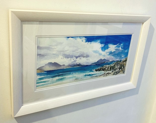 'Towards the Cuillins' by artist Catherine King