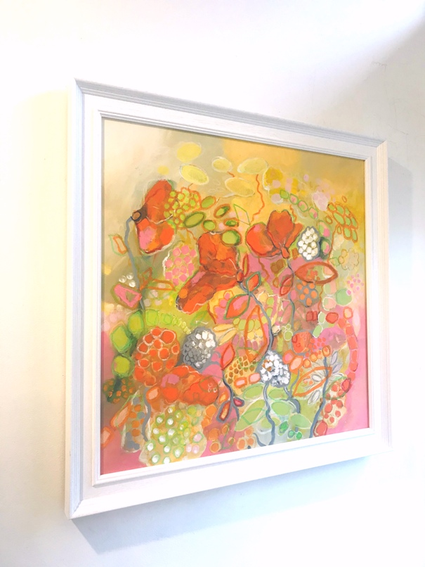 'Sweet Poppy Song ' by artist Joanna Mcdonough