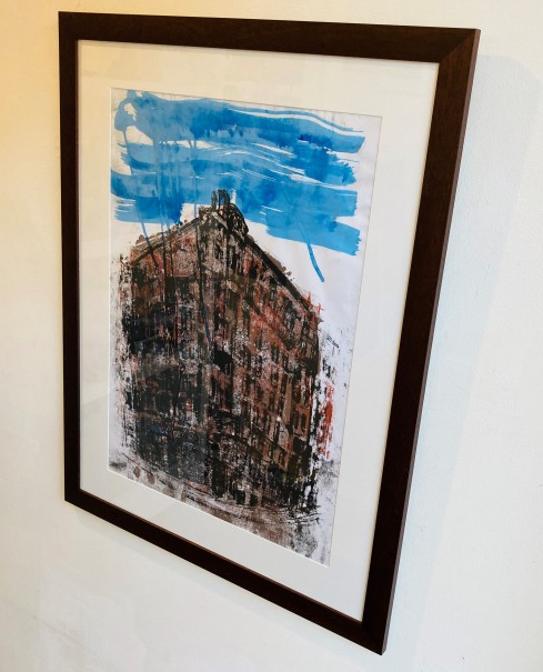 'Weather West George St' by artist Maeve Dixon