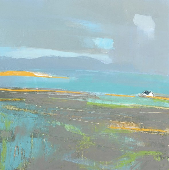 'Iona, Turquoise Tide' by artist Tracy Levine