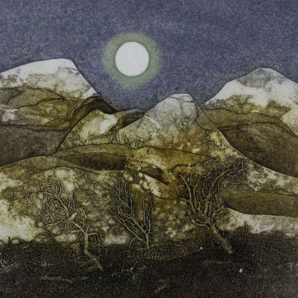 'Three Peaks 3/30' by artist Sarah Ross-Thompson