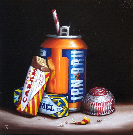 'Sugar Rush I' by artist Jane Palmer