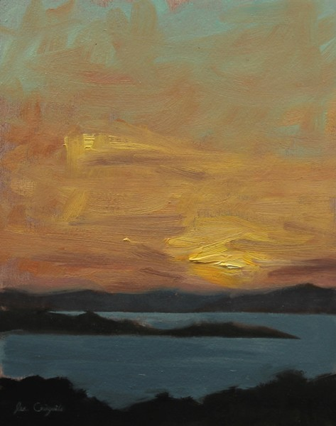 'Ayrshire Sunset II' by artist Lee Craigmile