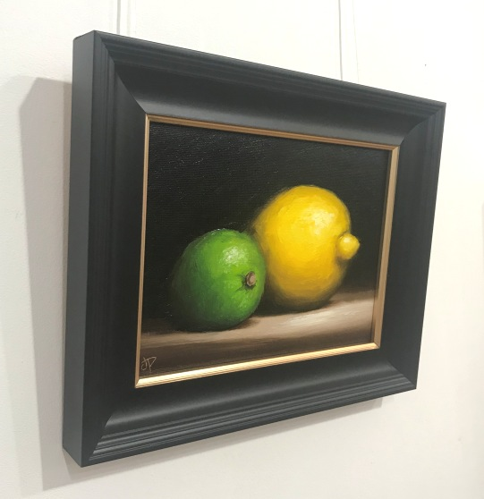 'Alla Prima Lemon and Lime' by artist Jane Palmer