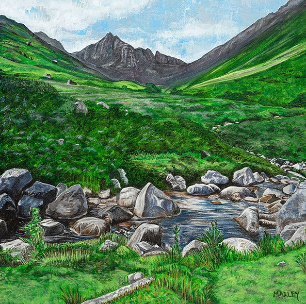 'Glen Rosa, Isle of Arran' by artist Marley McKinnie
