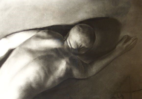 'Push' by artist Patsy McArthur